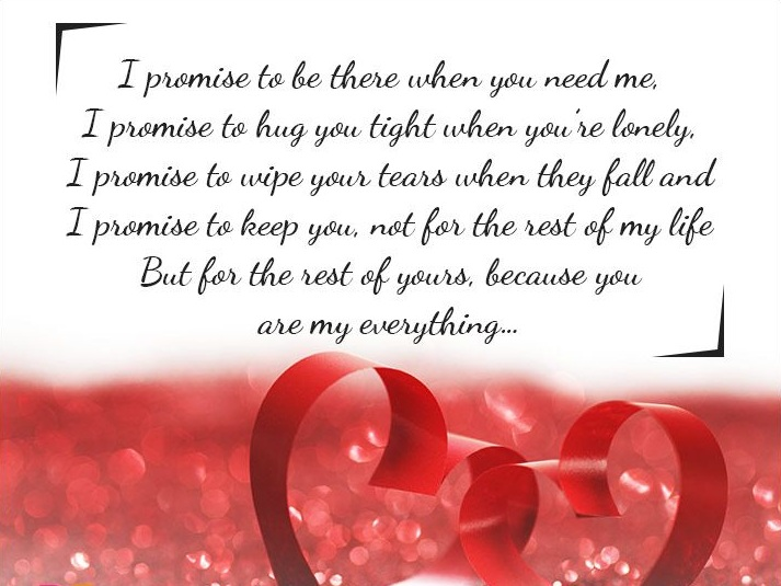 Most Romantic Love Promise Messages