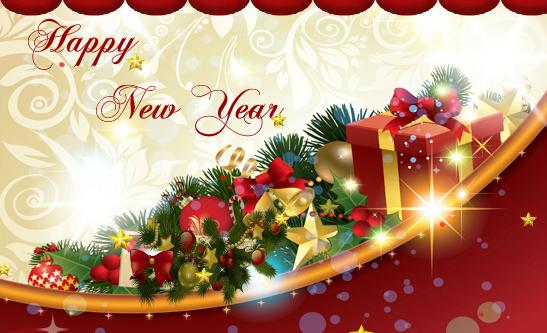 Beautiful New Year Ecards