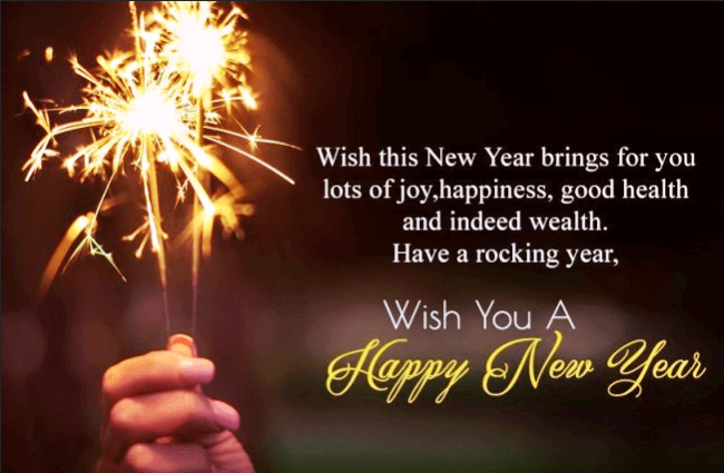 New Year Message For Best Friend