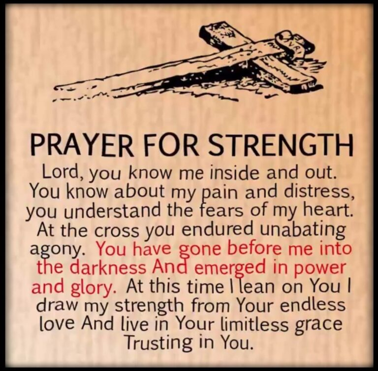 20 Best Prayer Quotes For Strength Tumblr