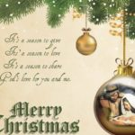 Religious Christmas Card Messages