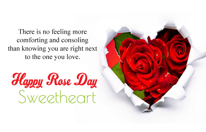Romantic Rose Day Greetings