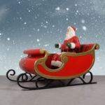 Beautiful Santa Sleigh