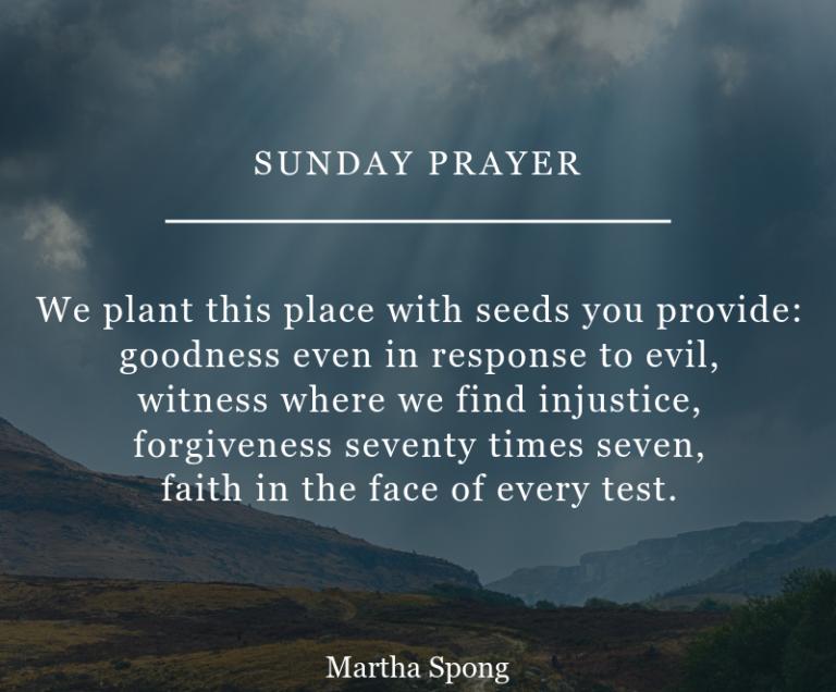 16 Beautiful Sunday Prayer