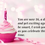Sweet 16th Birthday Wishes