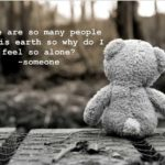 Teddy Bear Sad Quotes