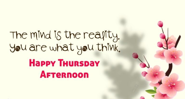 Beautiful Thursday Quotes