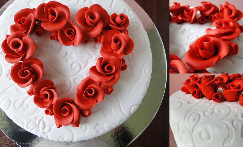Beautiful Valentine Day Cakes