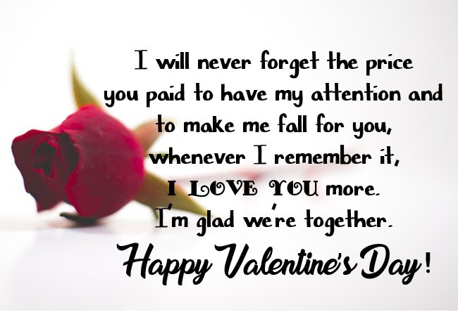 19 Romantic Valentine Day Messages For Husband