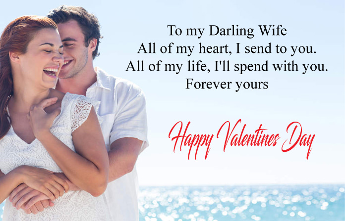 16 Romantic Valentine Day Messages For Wife