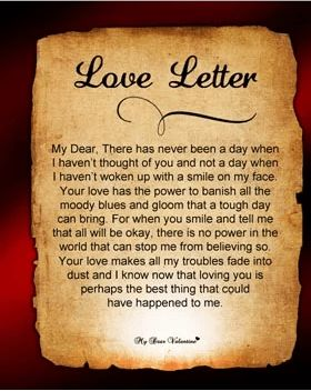 13 Romantic Valentines Day Love Letters