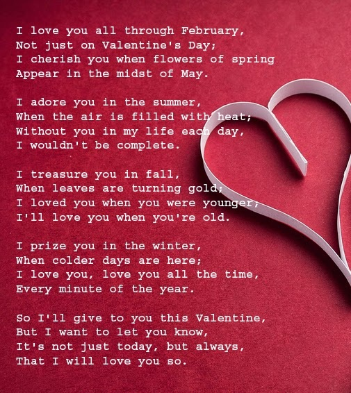 15 Romantic Valentines Day Poems