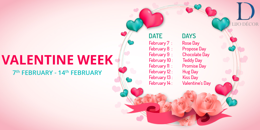 Valentine's Week List: Don't Miss Out on Rose Day, Kiss Day, Hug Day and Valentines Day